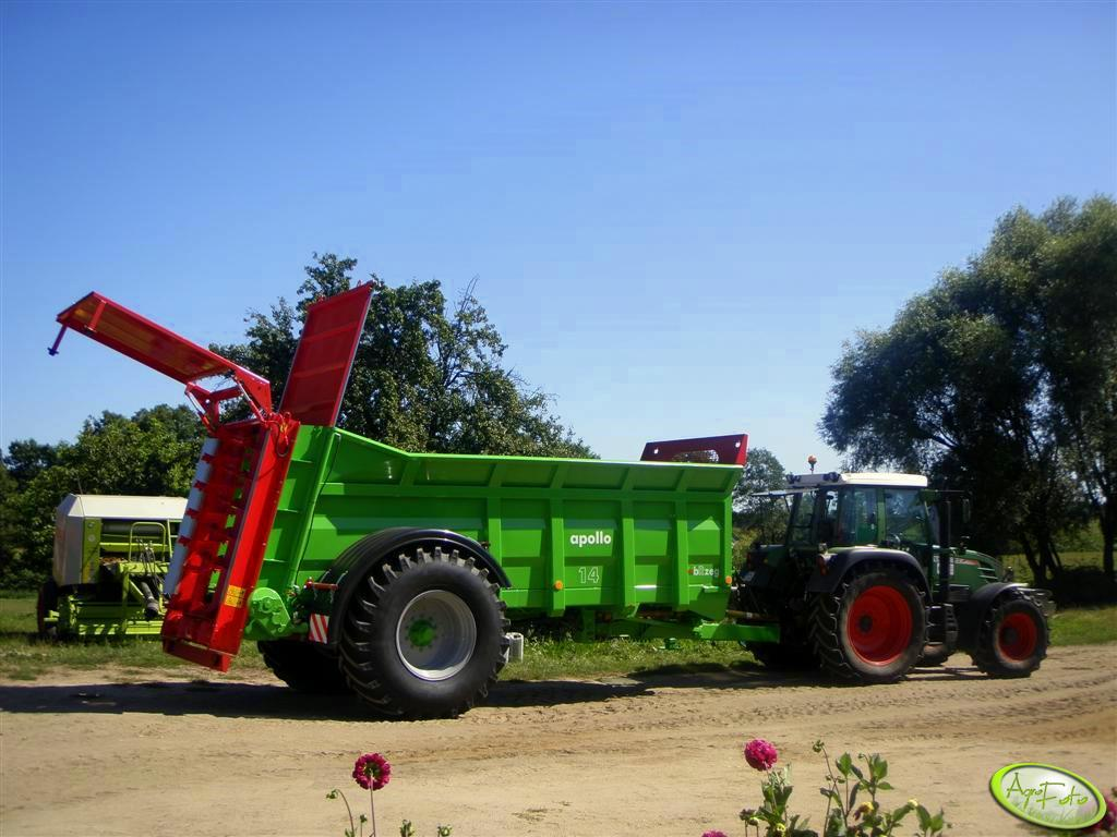 Fendt 312 Vario + Apollo 14