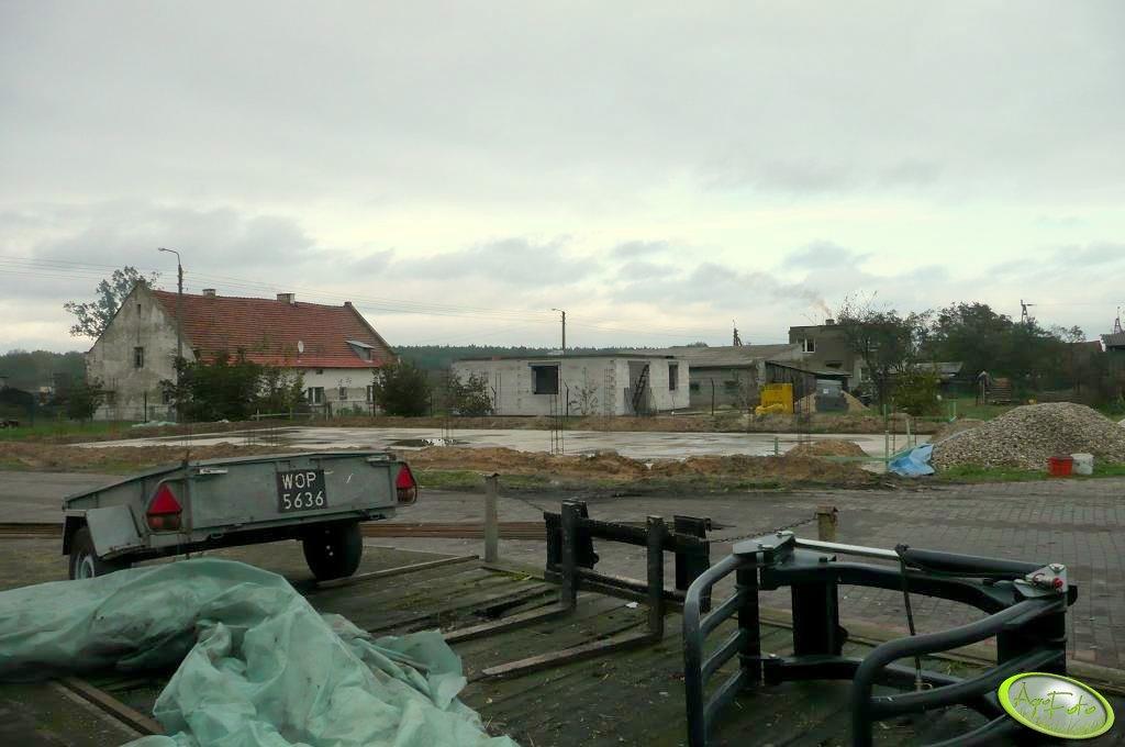 Budowa garażu 25x12m