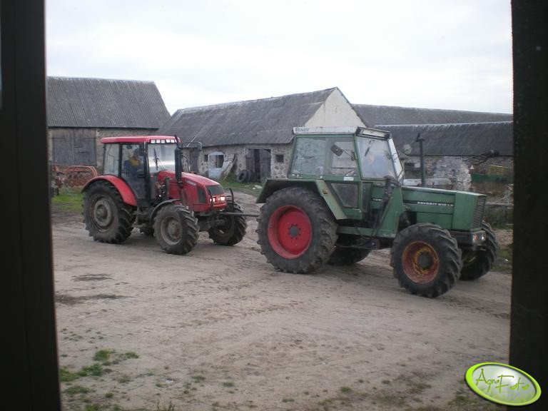 Farmer F10244c1 & Fendt 610 LS