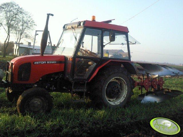 Zetor 5320 + kverneland