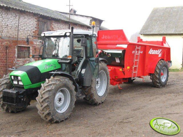 Agrofarm 85 GS + Jeantil