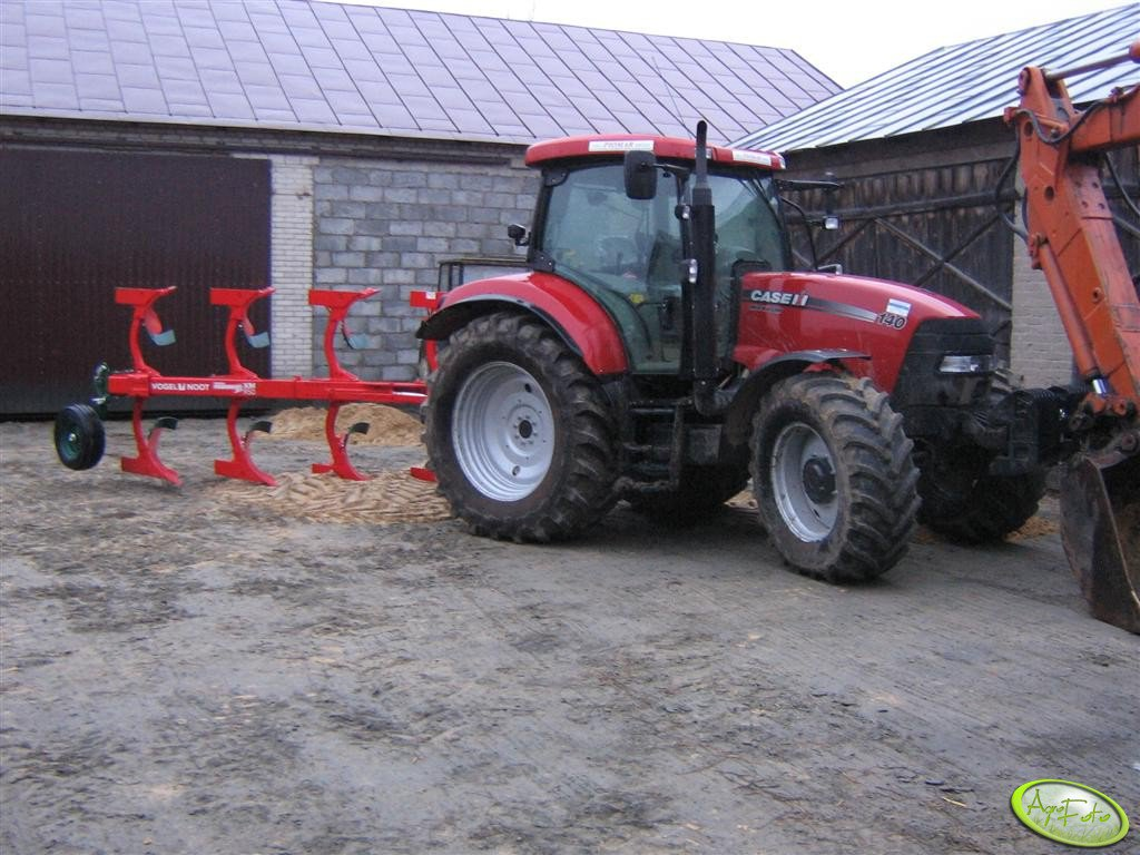 Case 140 Multicontroller + V&N XM950