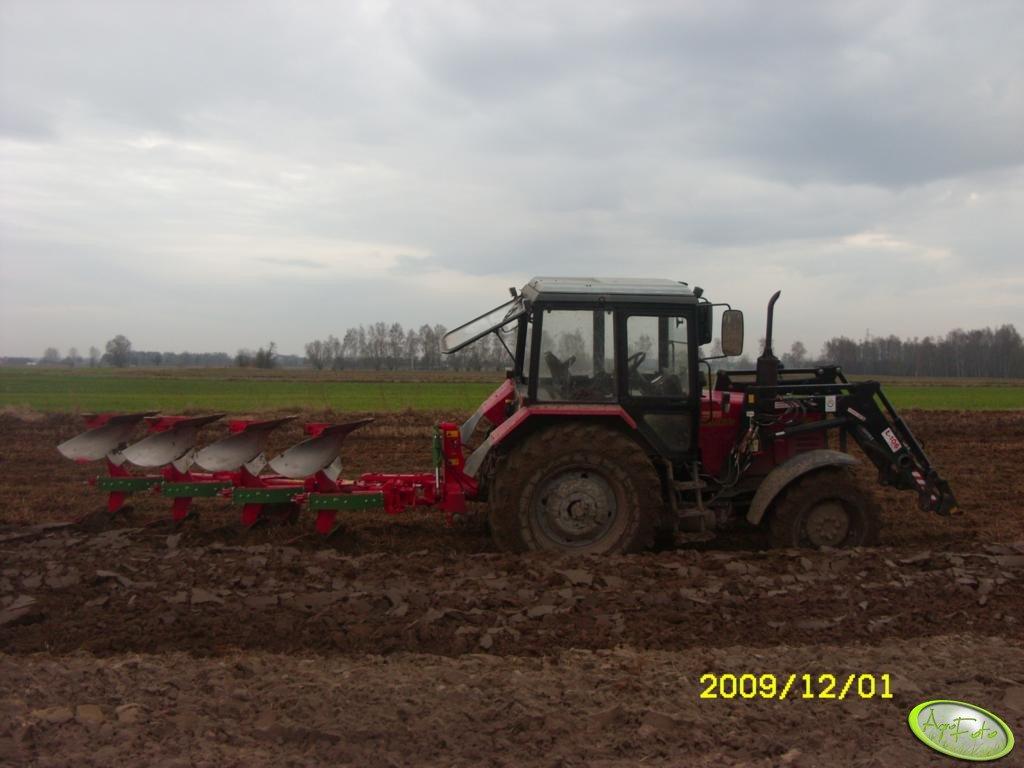 Belarus 952.2 + Ibis LS