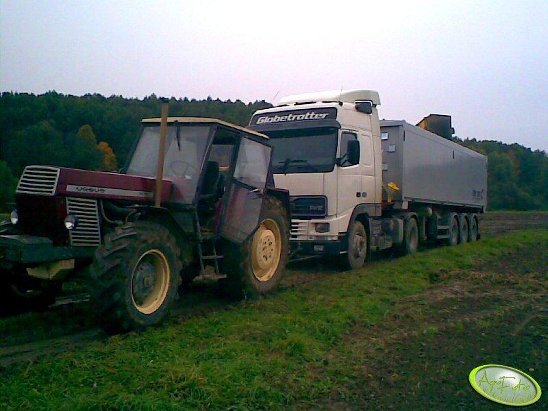 Ursus 1614 + Volvo FH12