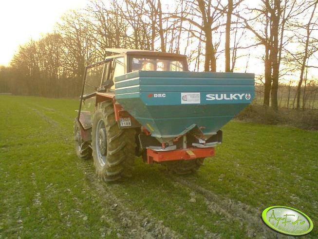 Ursus 914 + Sulky DRC