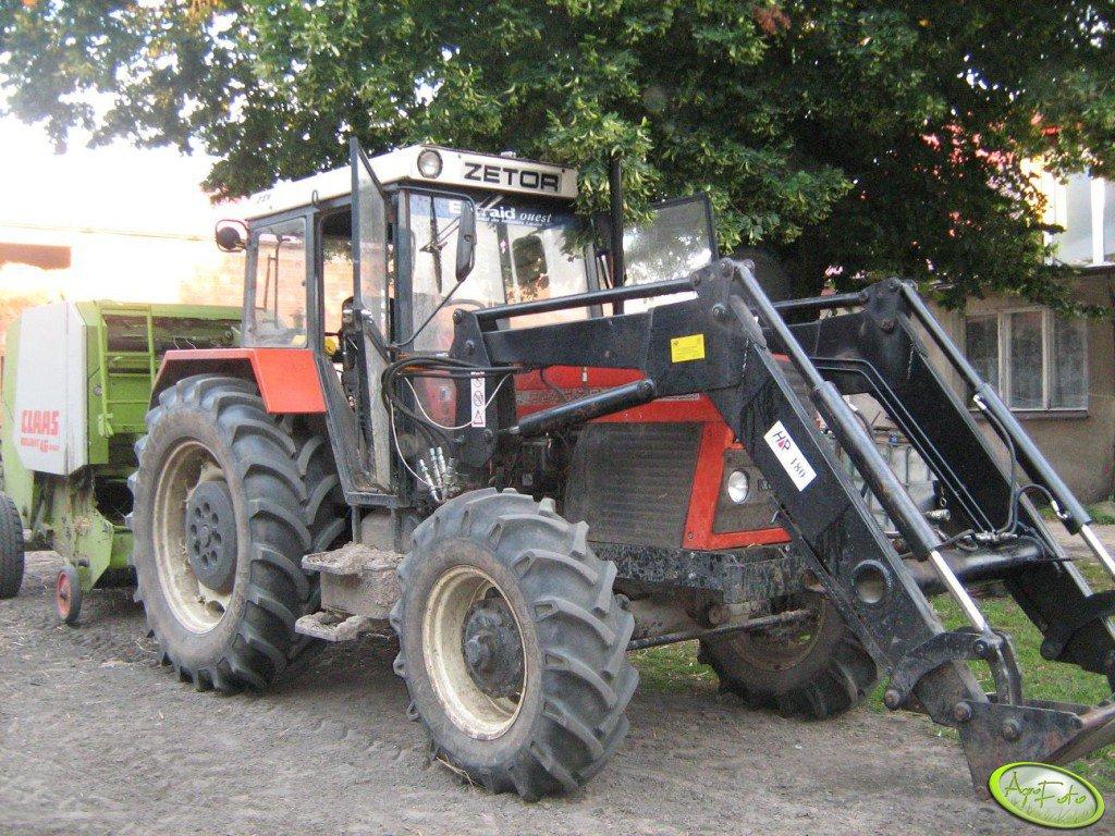 Zetor 8245 + Claas Rollant