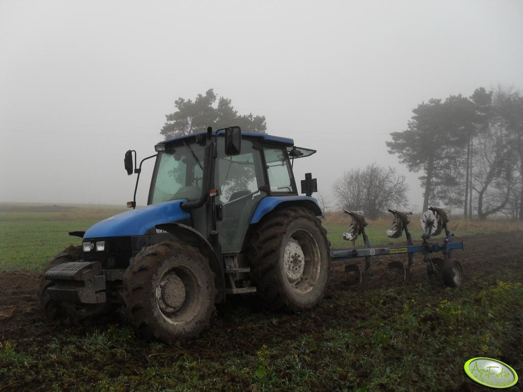 New Holland TL100 + Rabe 3+1+