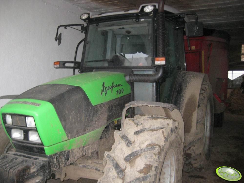 Deutz-Fahr Agrofarm 100 + Junkari
