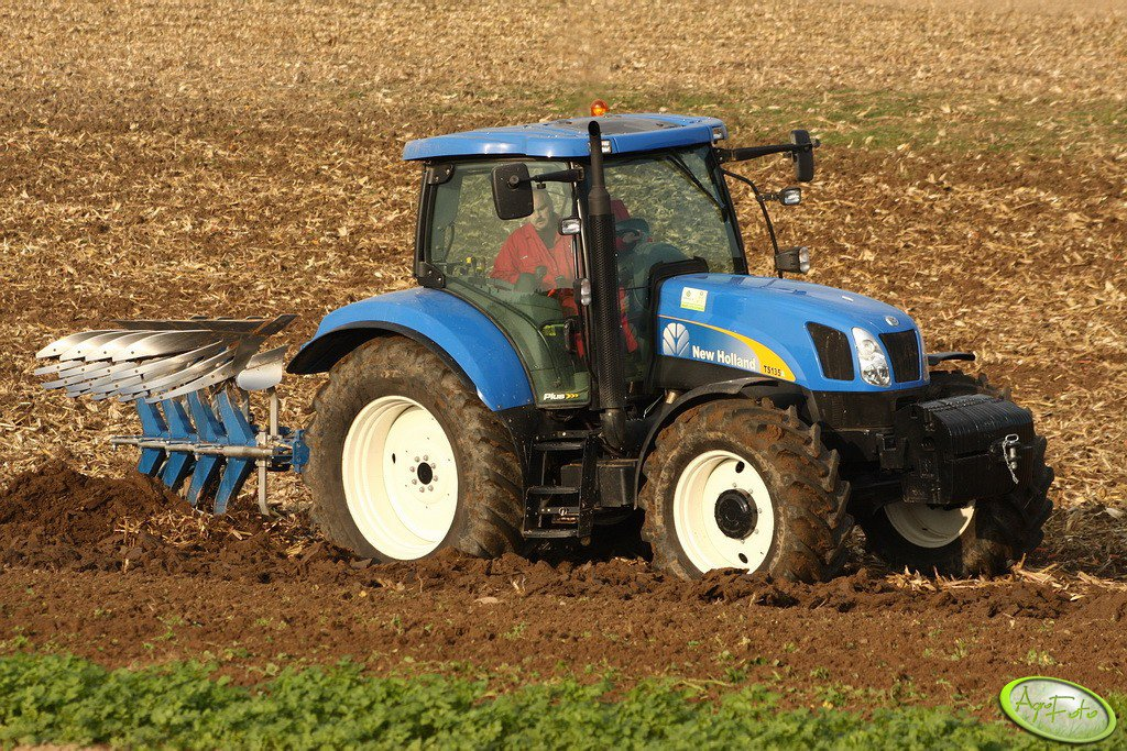 New Holland TS 135A + Överum DX