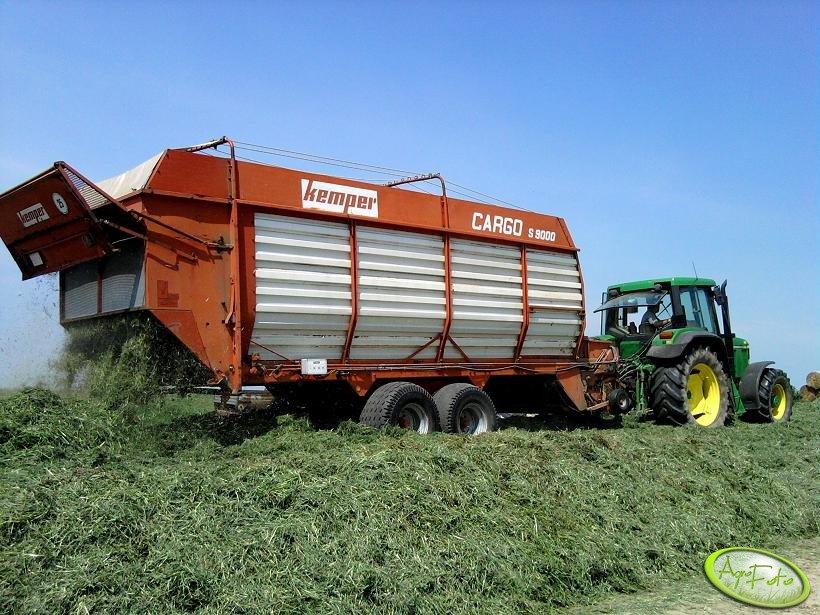 Kemper Cargo S9000 i John Deere