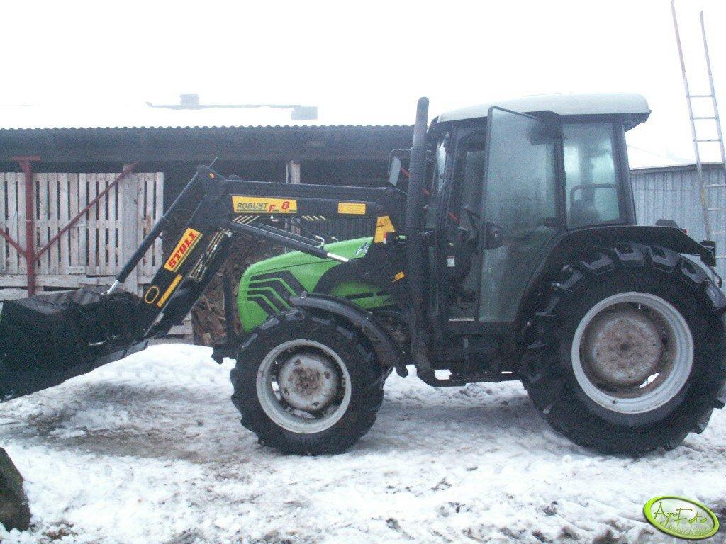 Deutz-Fahr Agroplus 77 & Stoll Robust r8