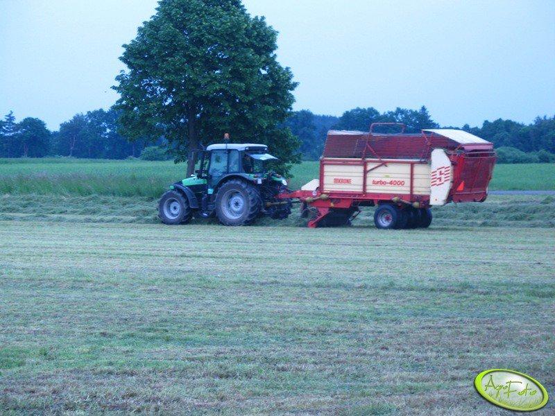 Deutz-Fahr Agrofarm 100+ Krone Turbo 4000