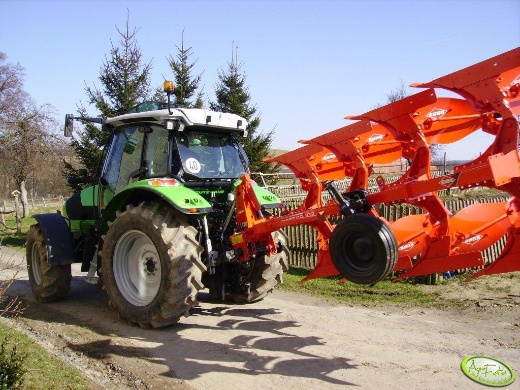 DF Agrotron K410 + Kuhn