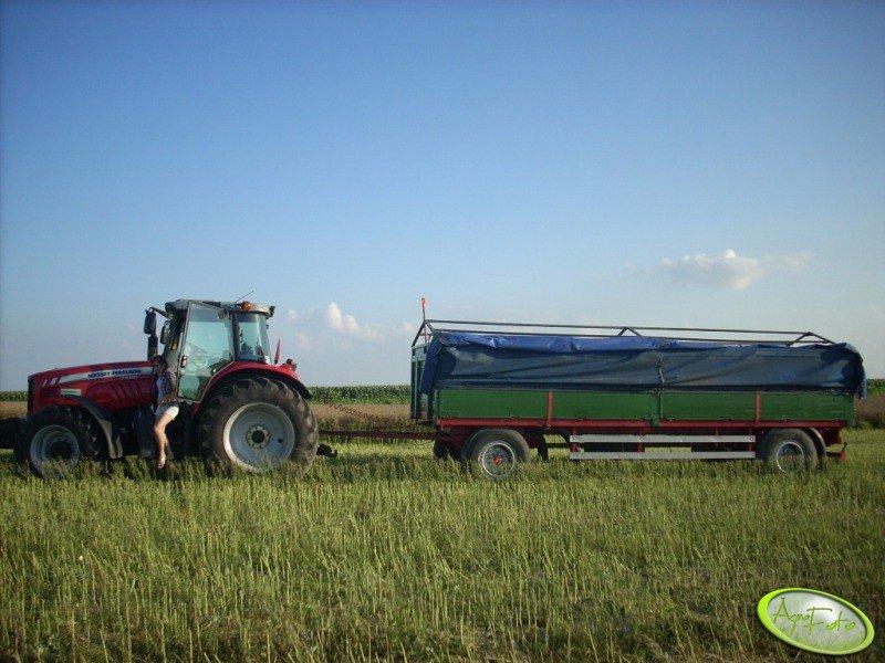 Schmitz 12 ton + MF 7480