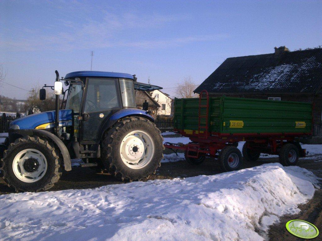 New Holland TD80D + MetalTech DB6000