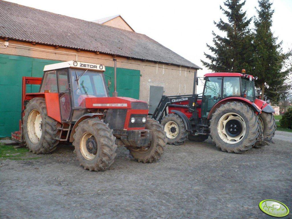 Zetor 12145 & 10641