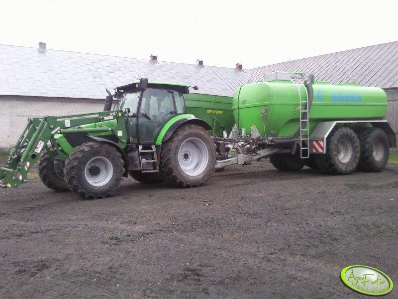 Deutz-Fahr K110 + BAUER