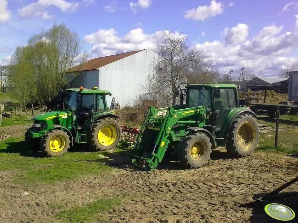 JD 6330 i JD 5080R