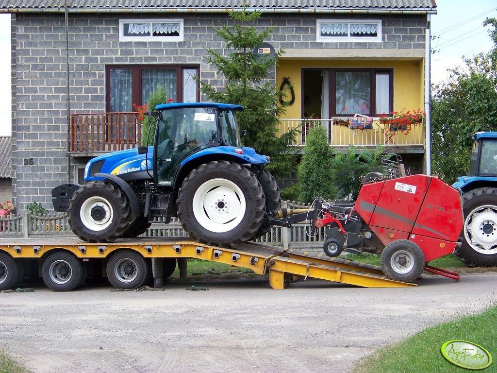 New Holland TS 100A + Unia Famarol DF 120