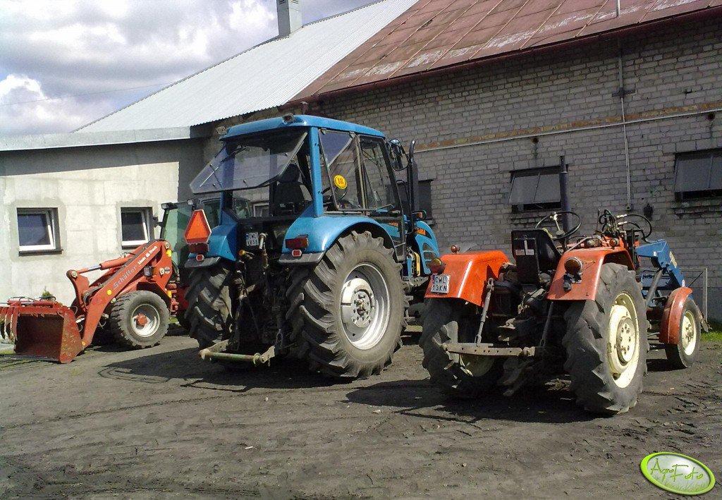 Pronar 1025A & Ursus C-330M & Schaffer