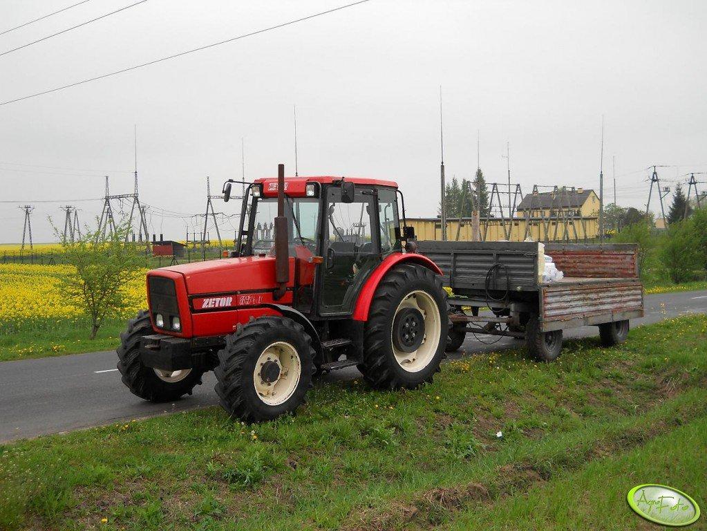 Zetor 8540 + D-47