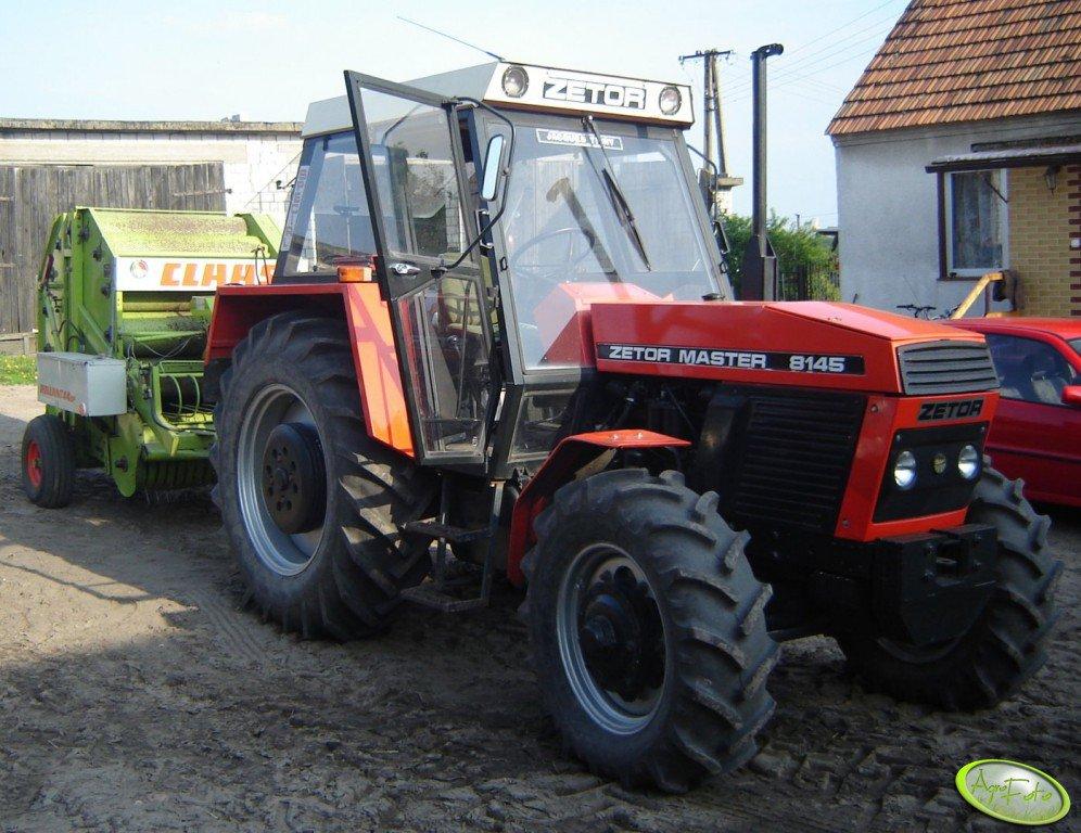 Zetor 8145 + Claas Rollant 44