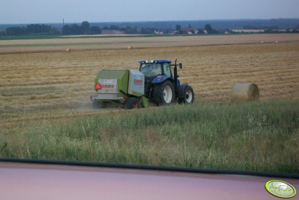 Claas Rollant 250 Roto Cut + New Holland
