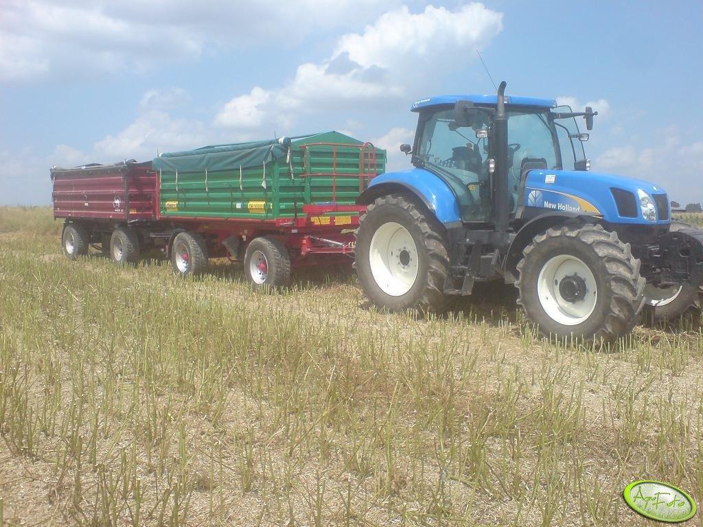NH T6050 RC + Metaltech DB 10000 + Wielton 10000