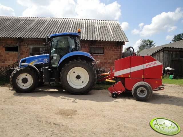 New Holland T6030 RC + Metal -Fach