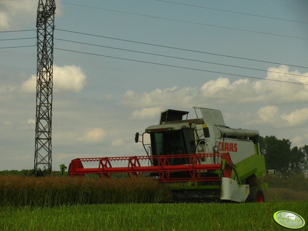 Claas Lexion 450 + Heder C660