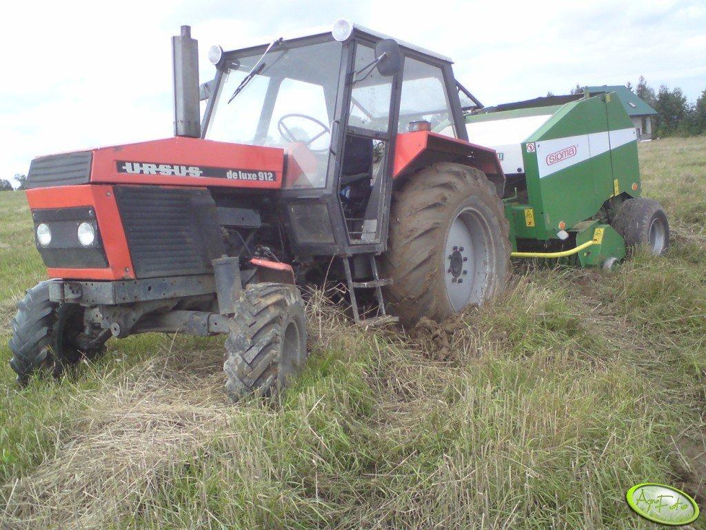 Ursus 912 DL i Sipma Z-279/1 Farma II