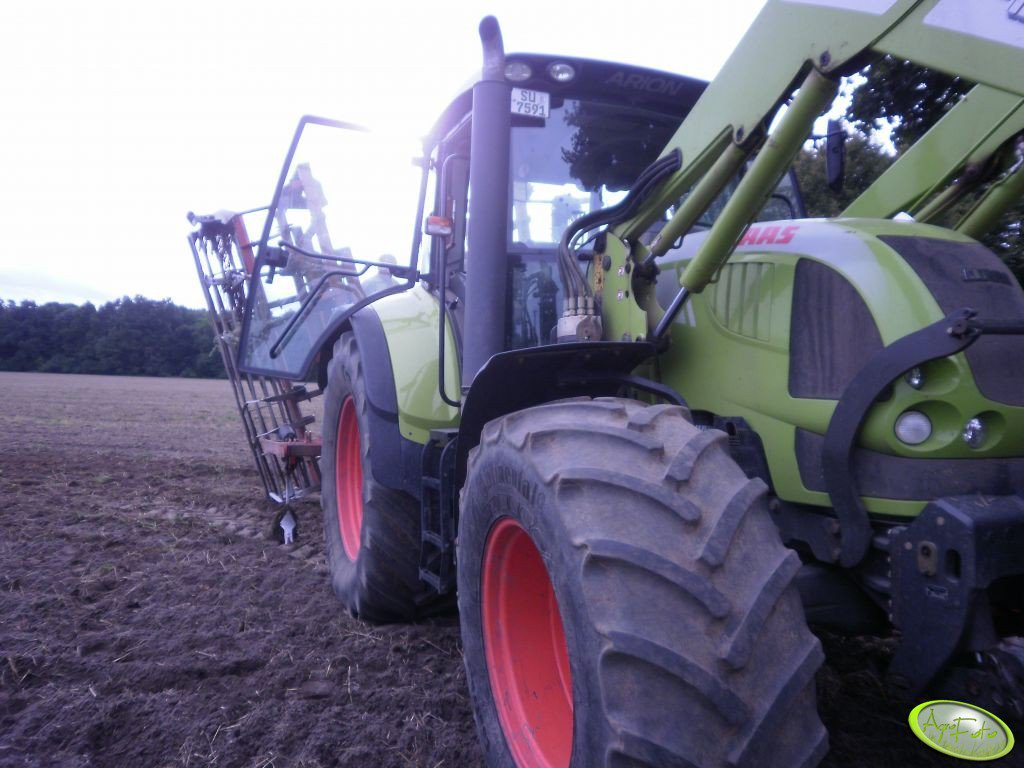 Claas Arion 620c + Backer 6m