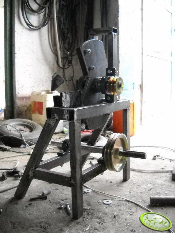 Budowa rębaka