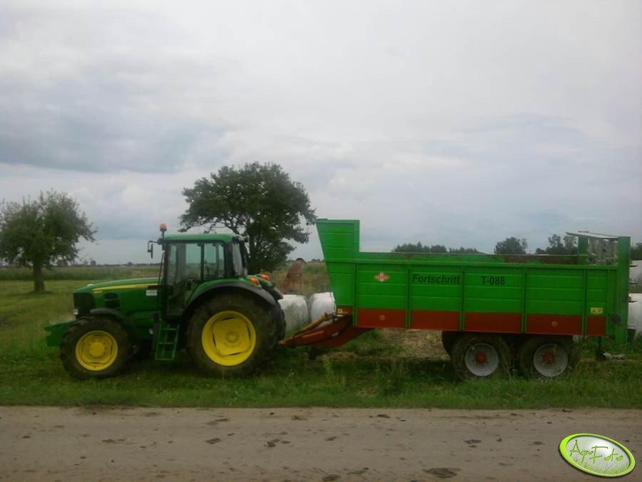 JD 6530 + Fortschritt T-088