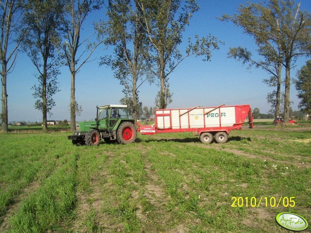 Fendt Favorit 600 LS + Pottinger Profi