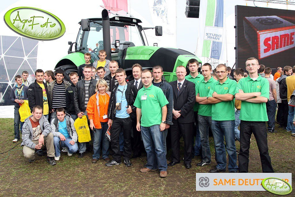 Same Deutz-Fahr - Agrofoto.pl Spotkanie Niedziela