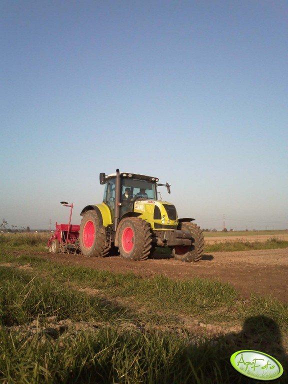 Claas Arion 620 + Mandam APB z Kongskilde NCS1130