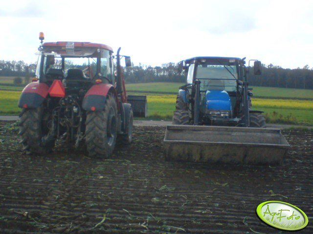 NH TL 100 & Zetor Proxima Power 95