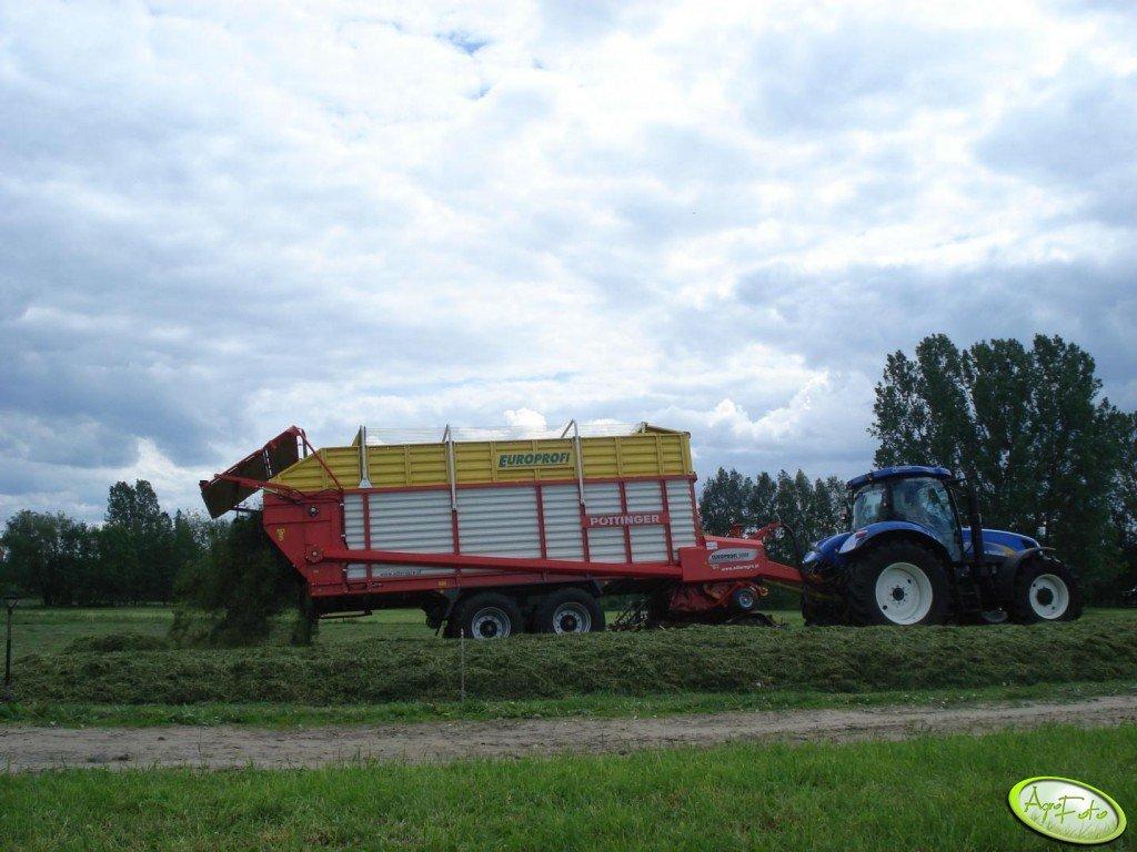 NH T6030 RC + Pottinger Europrofi 5000
