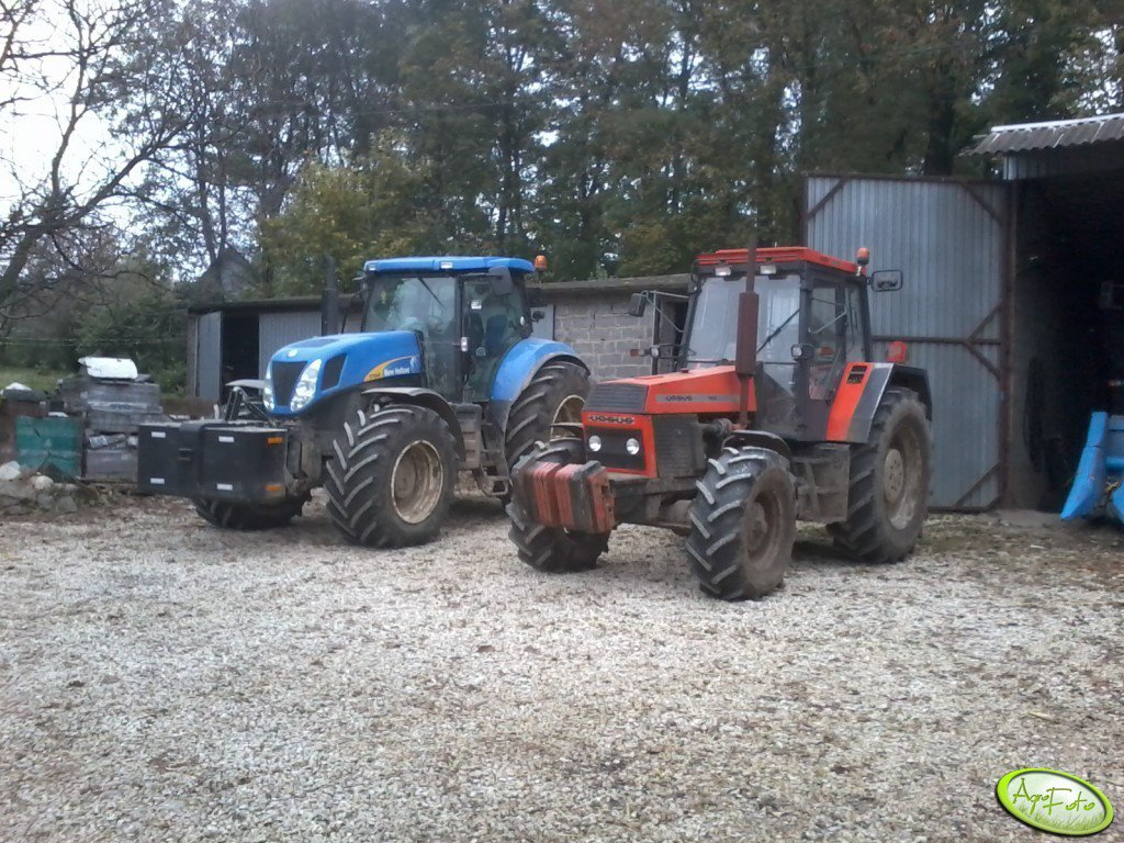 Ursus 1634 VS New Holland T7040