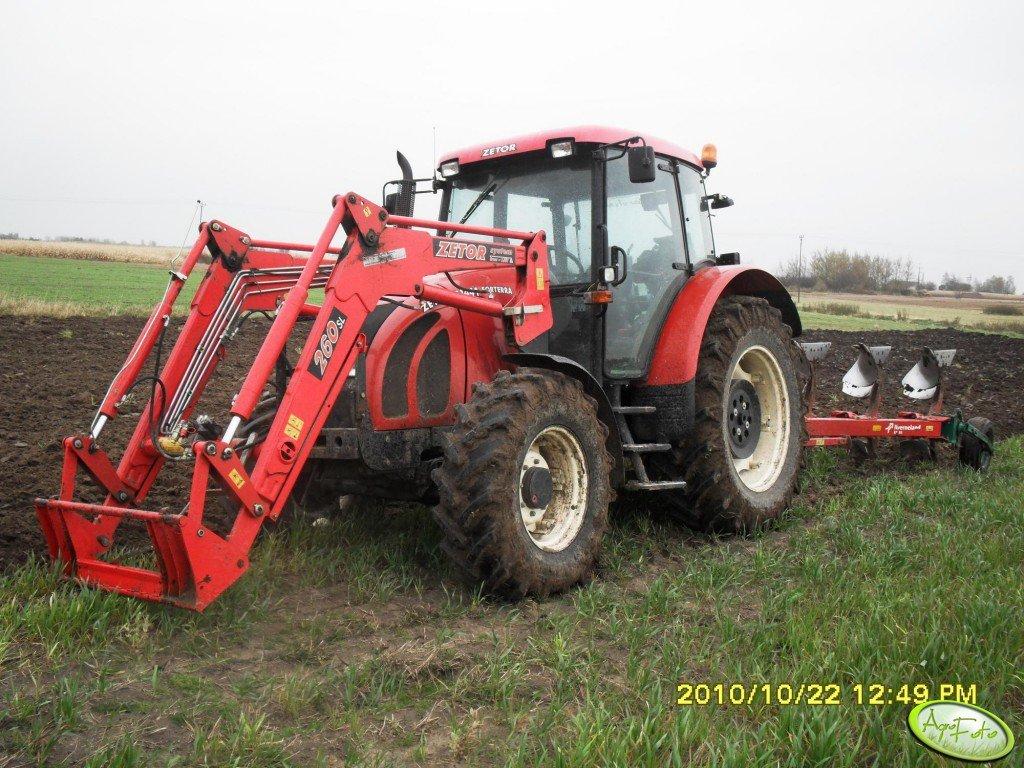 Zetor Forterra 11441 + Kverneland EM-85