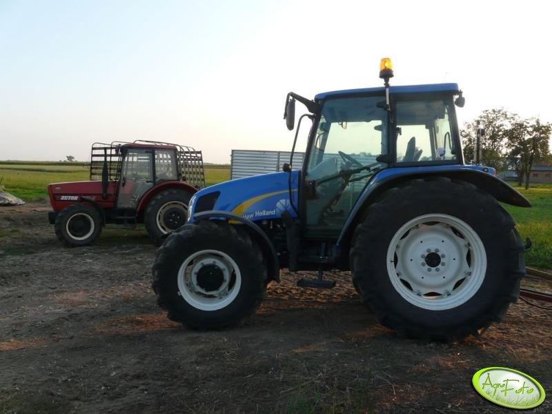 NH T5060 & Zetor 7540