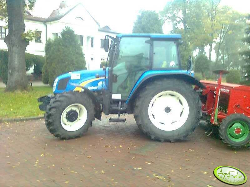 New Holland T5050 + Polonez