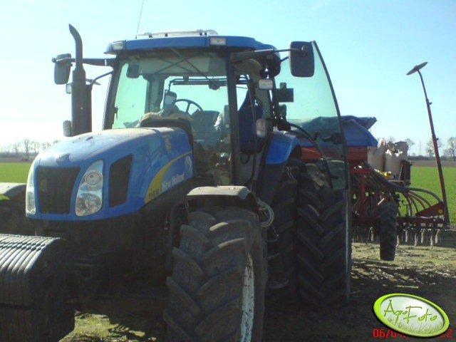 New Holland T6030 + Kverneland