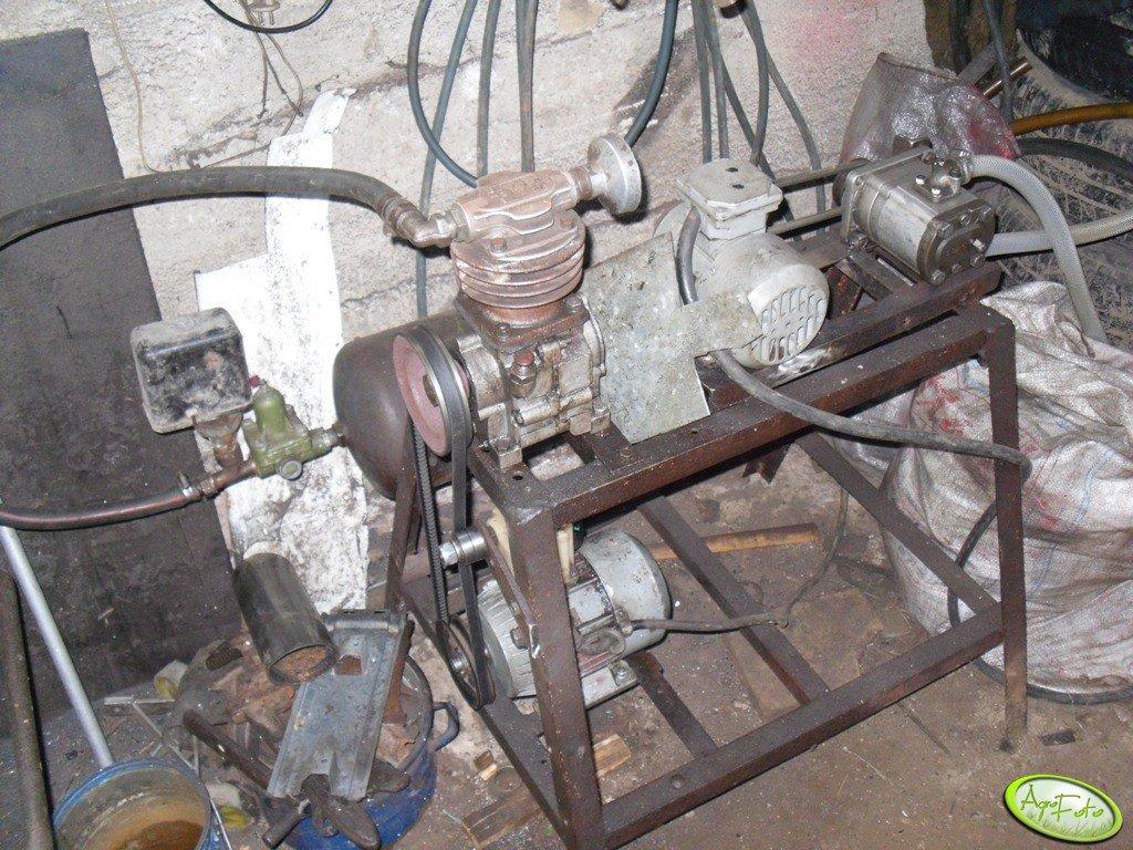 Sprężarka powietrza i pompa do paliwa