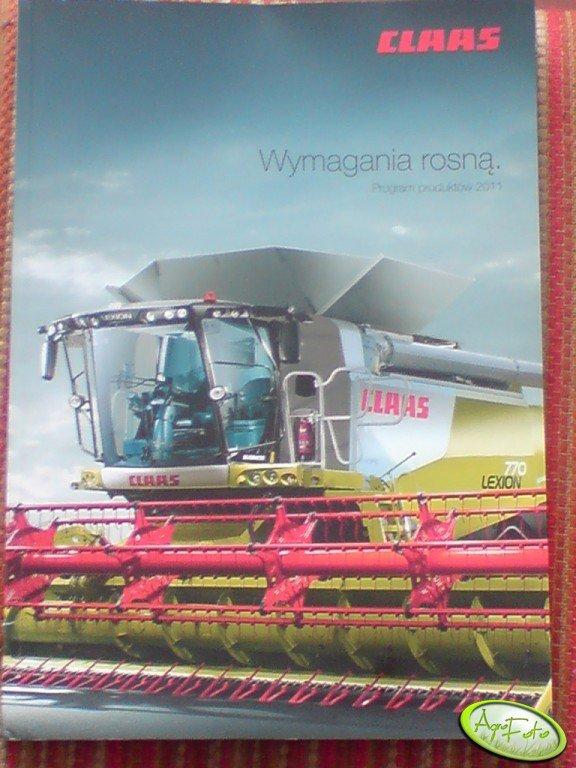 Claas katalog 2011