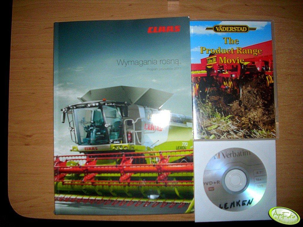 Katalog i płyty