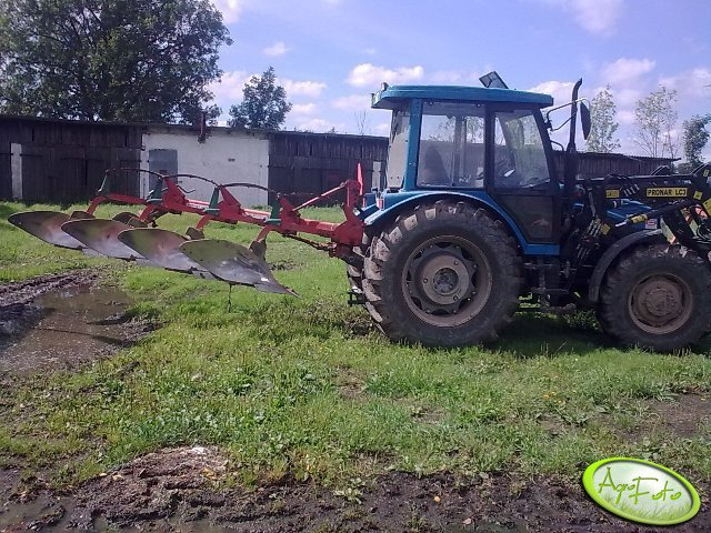 Pronar Zefir 85 + Kverneland