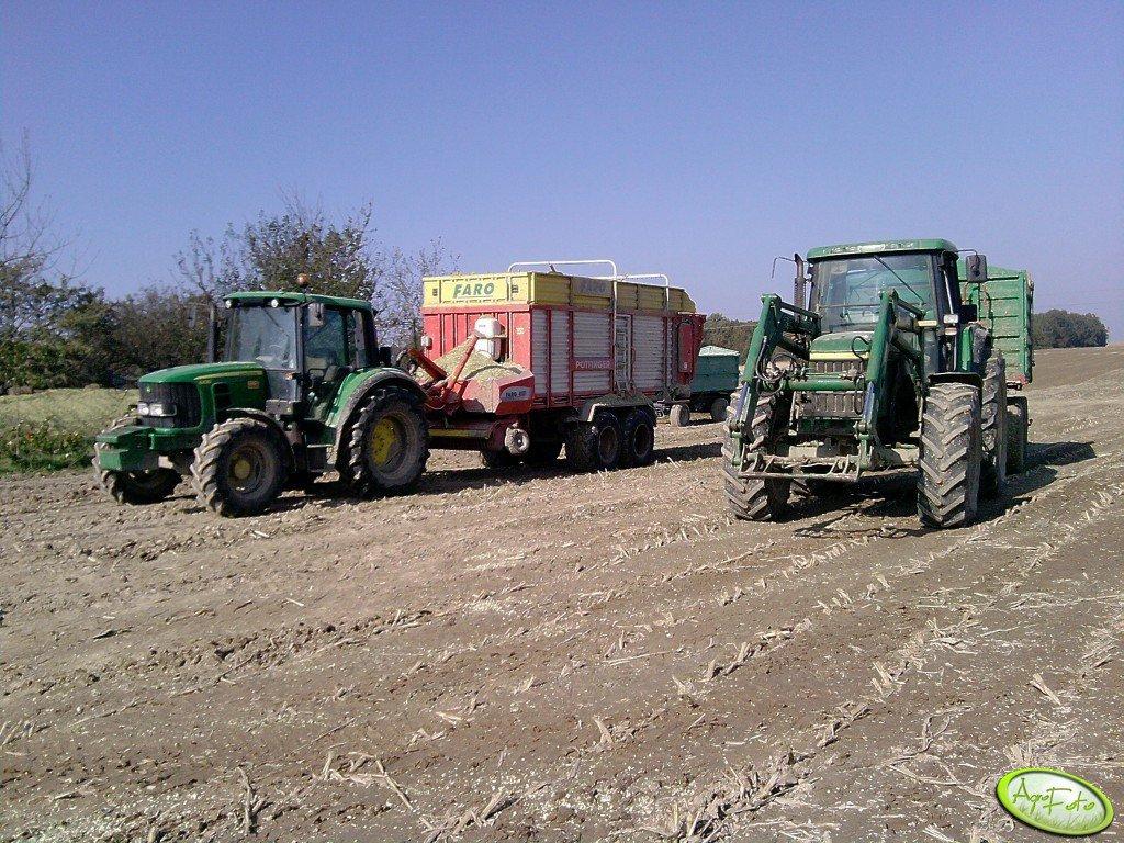 JD 6430 & Faro 4000 i JD 6910 & MT db 12000
