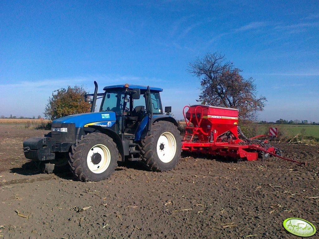 NH TM 140 + Horsch 4DC